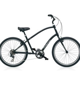 "Electra Townie Original 21D Black Satin - Mens 26"" 2018"