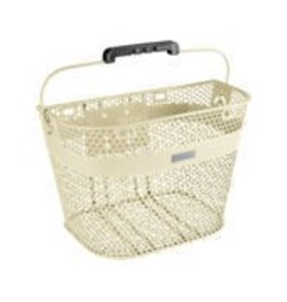 BASKET ELECTRA LINEAR QR MESH CREAM