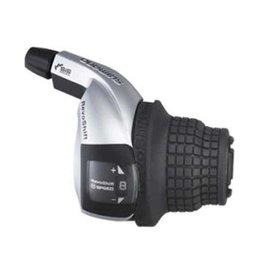 Shimano, Tourney Revoshift SL-RS45, Shift levers, 8 sp., Black, Pair