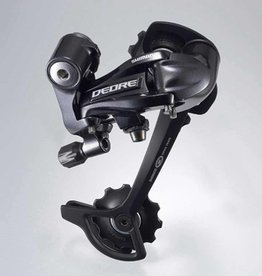 REAR DERAILLEUR, RD-M591-L, DEORE, SGS 9-SPEED TOP-NORMAL DIRECT ATTACHMENT, BLACK, IND.PACK
