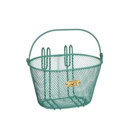 Basket Nantucket Surfside Child Wire Turquoise