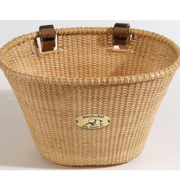 BASKET NANTUCKET LIGHTSHIP OVAL NATURAL
