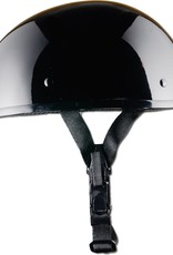 GBNP-XL SMALLEST LIGHTEST DOT GLOSS BLACK HELMET