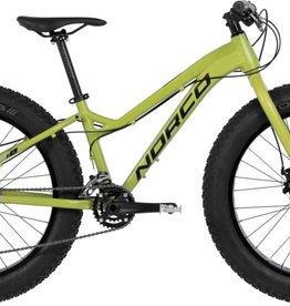 """Norco Bigfoot 4.3 Fat Bike 24"""" Yellow/Blue 2017"""