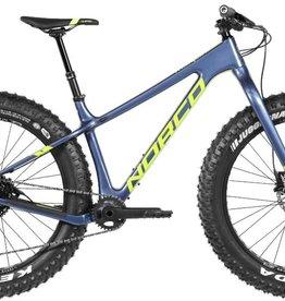 Norco Ithaqua, Medium frame, fat bike, Blue, 2018