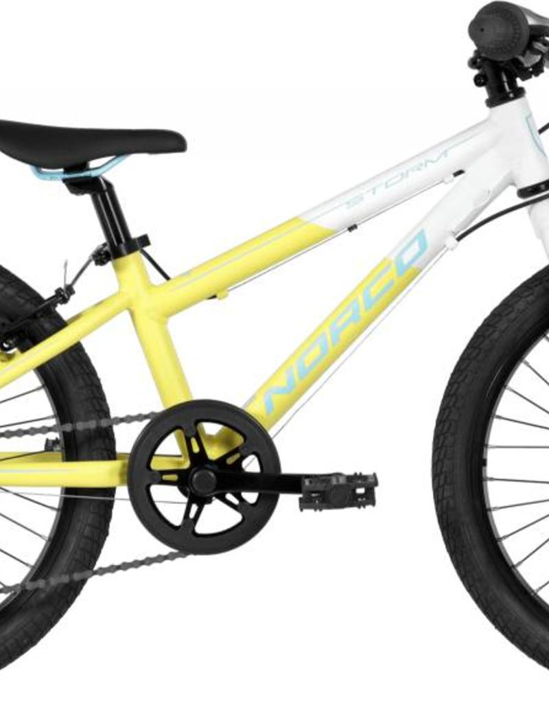 """Norco Storm 2.3 A 20"""" Yellow White Blue - 2018"""
