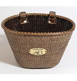 Nantucket, Lightship, Oval basket, 14''x10''x8.5'', Stained
