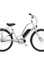 "Electra Townie Go! 8i Ladies Polished Silver 26"" - 2018"