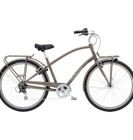 Electra Townie Commute 8D Mens Thunder Grey 700 - 2018
