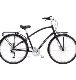 Electra Townie Commute 27D Mens Black Satin 700 - 2018