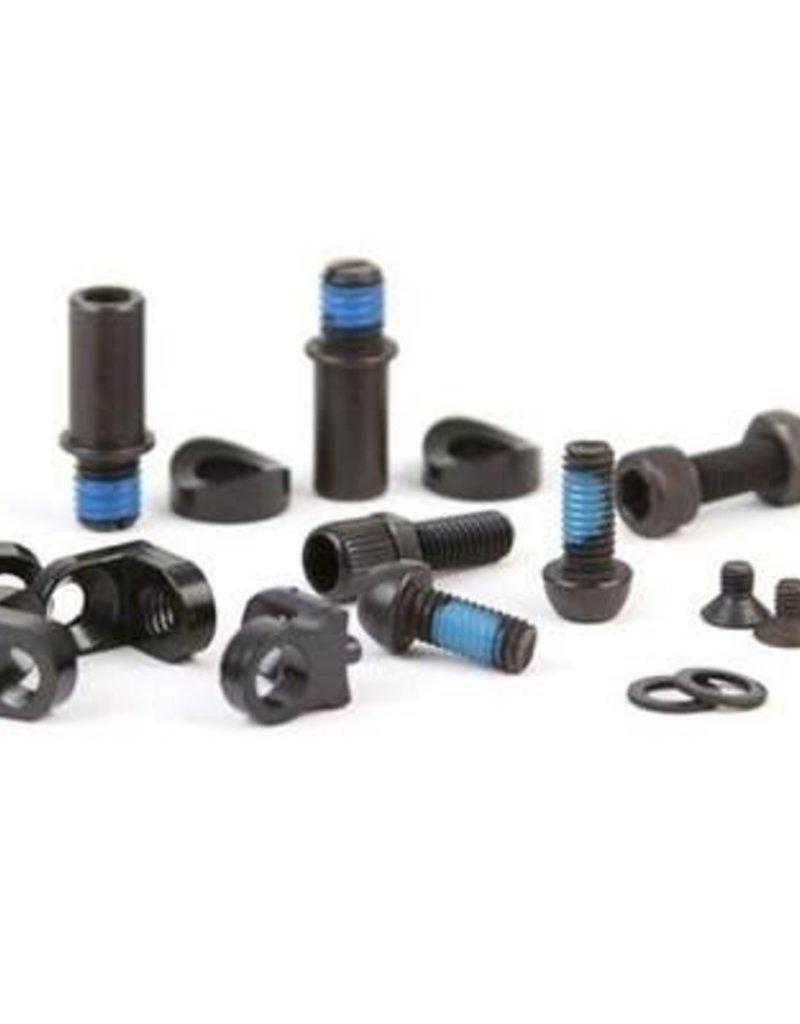 BMX frame brake mount kit - Black