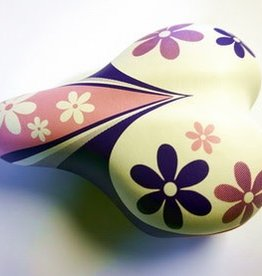 49N KIDS SADDLE - Pink & Purple flowers