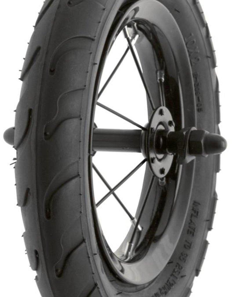 "Run Bike Complete wheel with tire 12"" - Black"