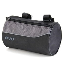 EVO, E-Carg Roll Up, Handlebar bag, 8-1/2'' x 5 Black Grey