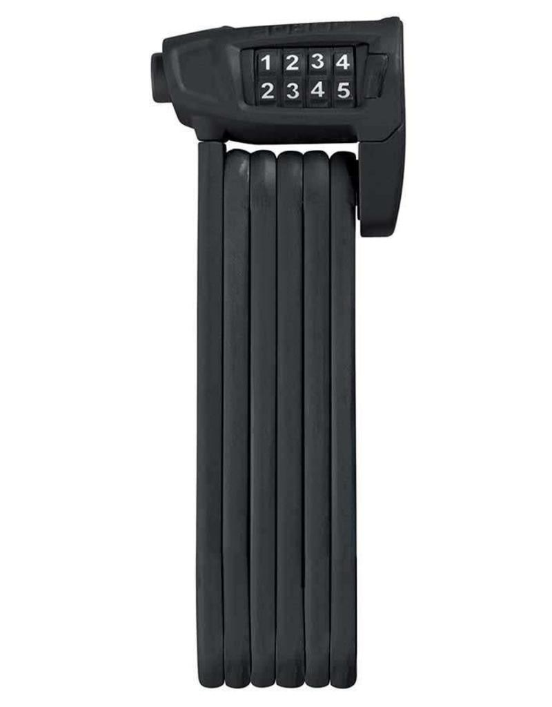 Abus, Bordo Lite 6150, Folding lock with combination, 85cm (2.8'), Black