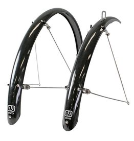 EVO, Power Guard, Pre-assembled fender set, Width 60mm, Fr 26'' wheels - Black