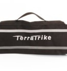 Terratrike Seat Back Bag Black with Silver Logo TT600134