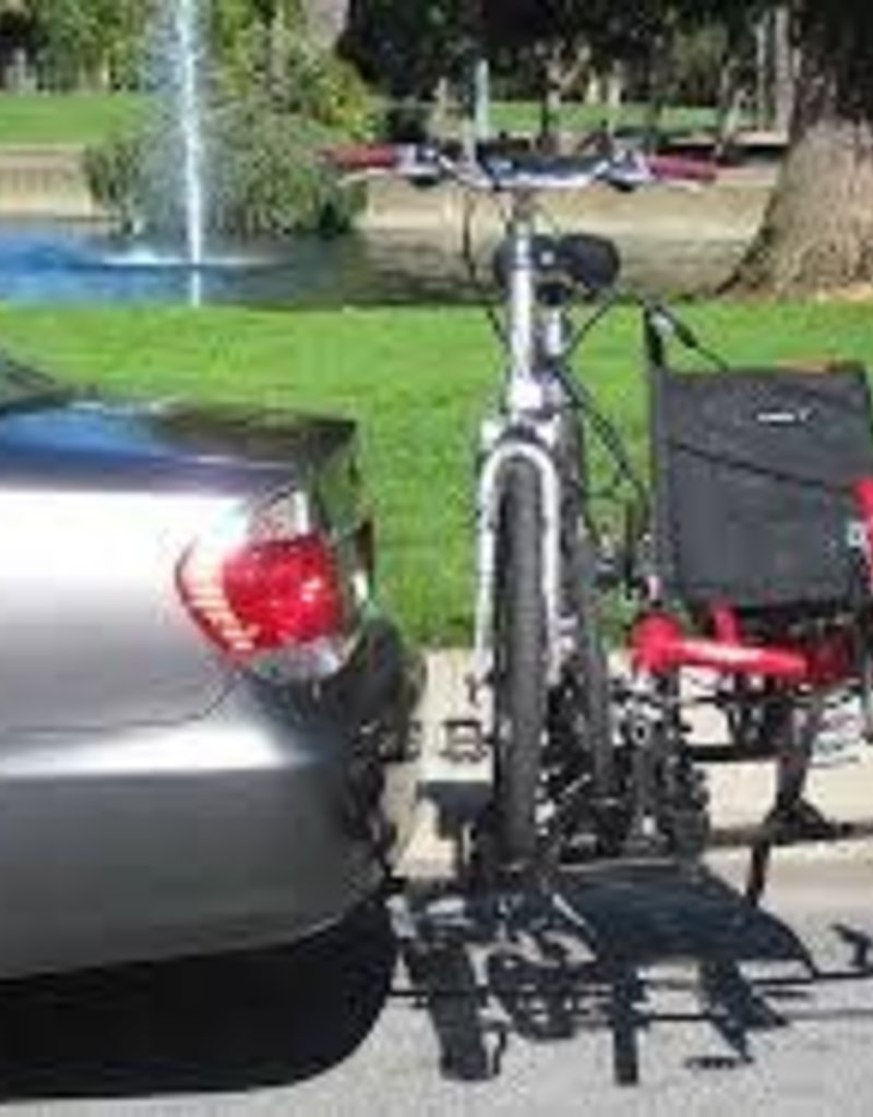 Hitchrider Trike N 1 Bike Rack with Lock Kit