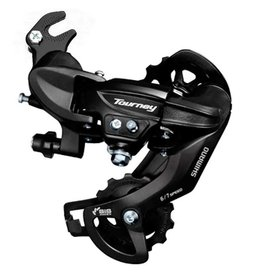 Shimano, Tourney RD-TY300, Rear derailleur, 6/7sp., SGS, Black, Direct attachment