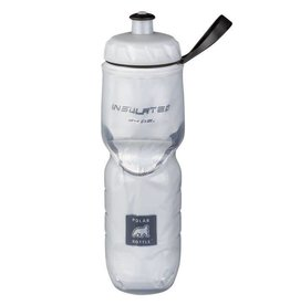 Water Bottle Polar Insulated 24oz White