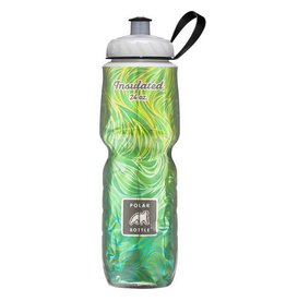 Water Bottle Polar 24oz Lemon Grass Green Yellow