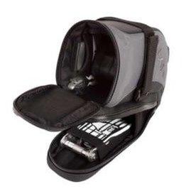 Lezyne, L-Caddy, Saddle bag, Black/Black, No tools included