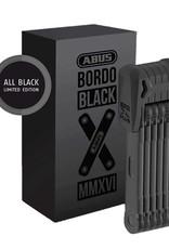 Abus, Bordo Black Edition Granit XPlus 6510, Folding Lck, Key, 85cm, 2.8', 5.5mm, Black