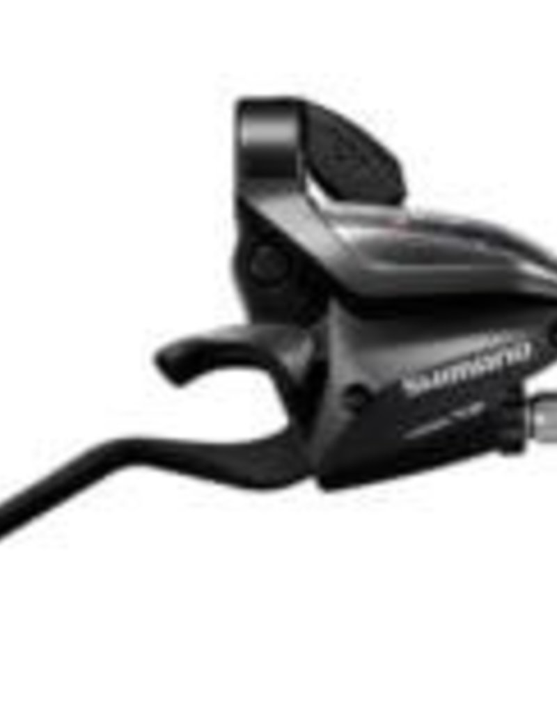 Shimano, ST-EF500, Shift/Brake lever combo, 3x8sp., Black