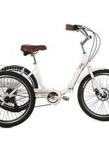 EVO, Latitude Folding Trike, 8-Speed, Alpine White, Universal One-Size