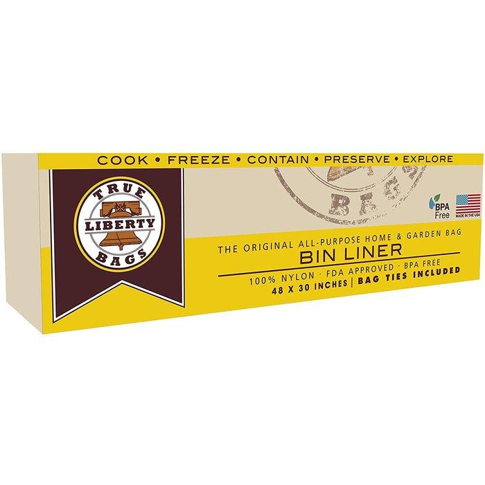 "True Liberty Bin Liner 48"" x 30"" - 10 Pack"