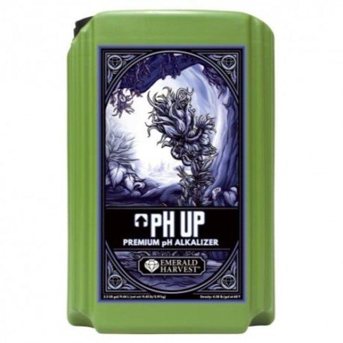 Emerald Harvest pH Up 2.5 Gallon/9.46 Liter (2/Cs)