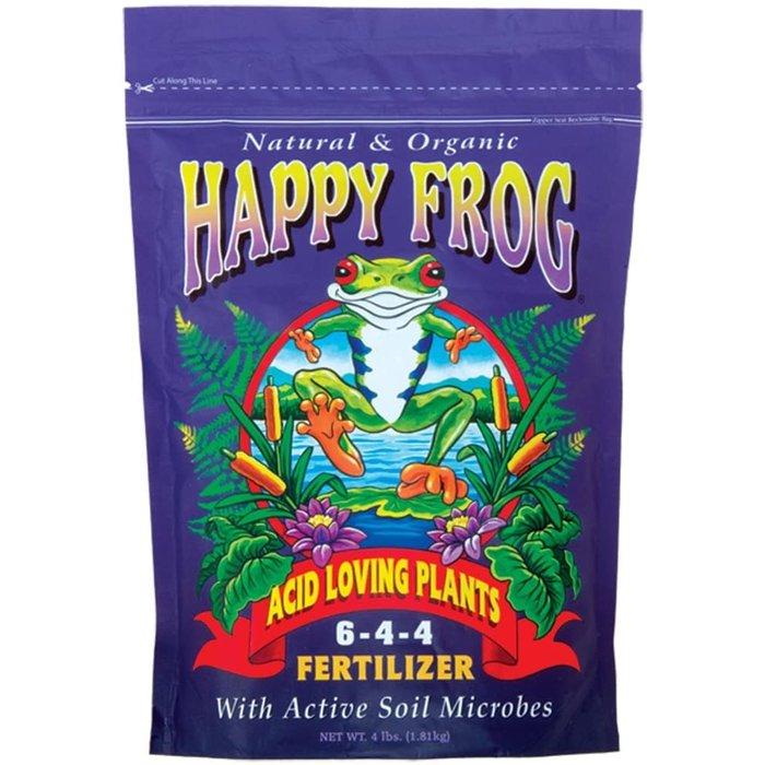Acid loving happy frog