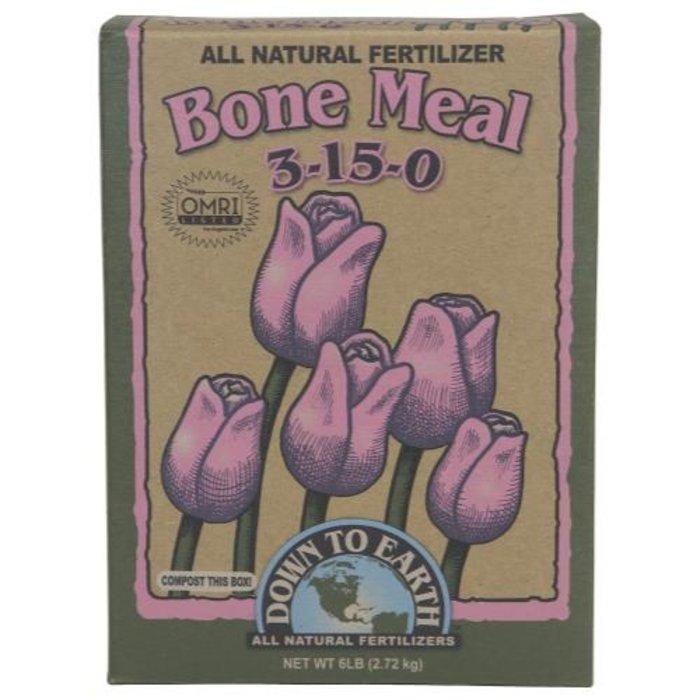 Down To Earth Bone Meal - 6 lb (6/Cs)