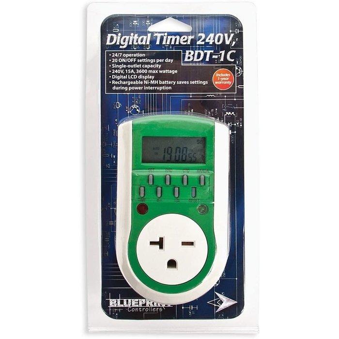 Blueprint Controllers Digital Timer 240V, BDT-1C