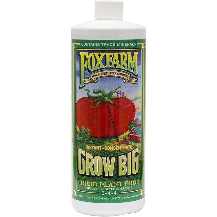 FoxFarm Grow Big Liquid Plant Food, qt