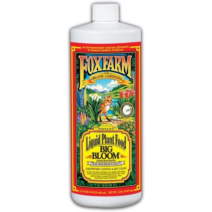 FoxFarm Big Bloom Liquid Plant Food, qt