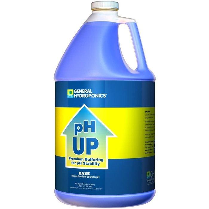 General Hydroponics pH Up, gal