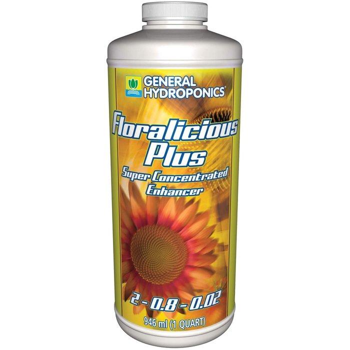 General Hydroponics Floralicious Plus, qt