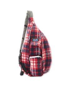 Plaid Rope Bag