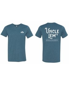 Uncle Lem's Three Trees Script T-Shirt Adult