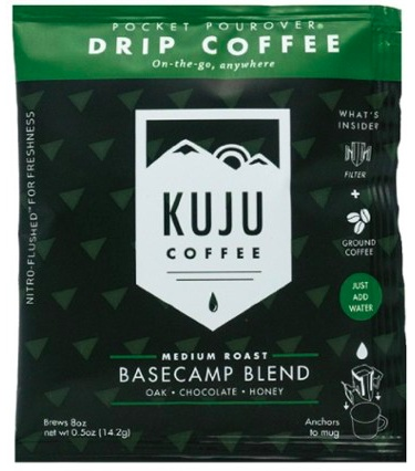 Kuju Coffee Pocket PourOver Coffee - Single Serving