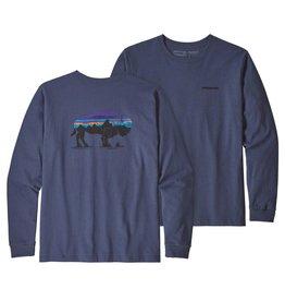 Patagonia Patagonia Men's Long Sleeve Fitz Roy Bison Responsibili-Tee