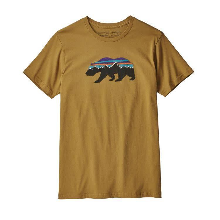 Patagonia Men's Fitz Roy Bear Organic T-Shirt