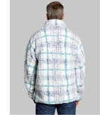 True Grit Frosty Tipped Taos Plaid Pile