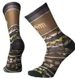 SmartWool Men's Bird Geo Print Crew Socks