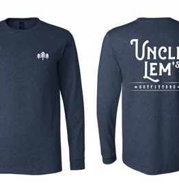 Uncle Lem's Uncle Lem's Long Sleeved Adult Logo Tee