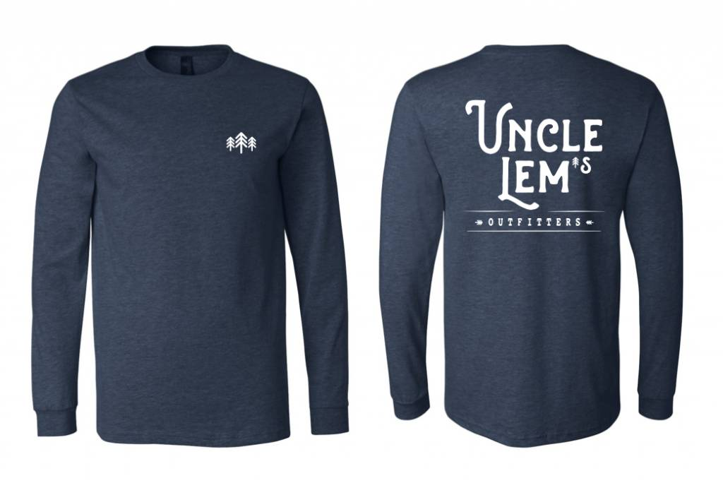 Uncle Lem's Long Sleeved Adult Logo Tee