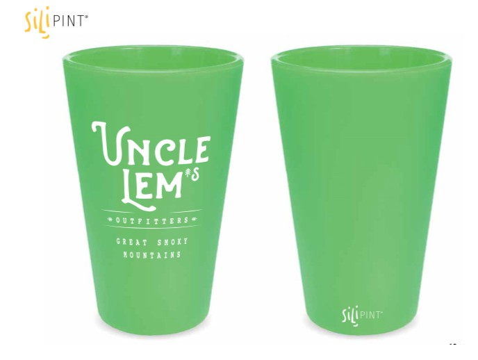 Uncle Lem's Smoky Mountains Logo Glow-In-The-Dark