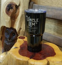 Uncle Lem's UL's Black Tumbler