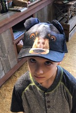 Kids Black Bear Hat
